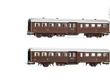 Hr4300-1 Rivarossi FS Chandra Livrée Brun À chariots 2 CL SC 1 87