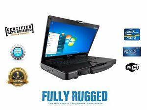 Panasonic Toughbook CF-53 Mk2 i5 Win 7 or 10 Rugged Laptop Diagnostics Customise