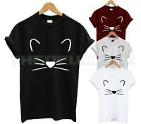 KITTEN T SHIRT FASHION TUMBLR HIPSTER SWAG DOPE CUTE CAT LADY ANIMAL LOVER UNISE