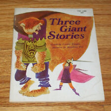THREE GIANT STORIES, Retold by L Conger, Scholastic TW 1069, 1ST Printing, 1968