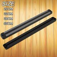 Strong Magnetic Wall Mounted Kitchen Knife Magnet Bar Holder Display Rack Strip