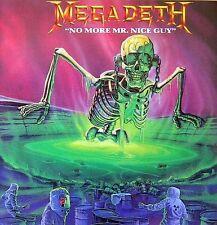 Megadeth - No More Mr Nice Guy EP Vinyl LP Cover Sticker or Magnet