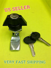 90 degree Cam lock Black Keyed alike Wing knob Mailbox Cupboard # 065.1.2.01.35