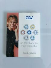 Nokia 3390 French users manual