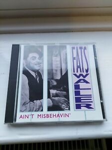 FATS WALLER AIN'T MISBEHAVIN CD