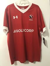 NEW Team Canada Rugby Jersey Under Armour DHL Men's XL Red Jersey