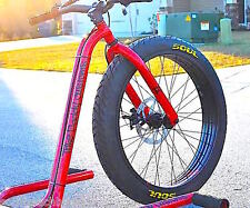 "Drift Trike tire. 26""x3"" Low profile Duro's performance rubber. Yellow hot patch"