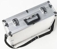 CF Aluminiumkoffer Kamerakoffer Fotokoffer photo suitcase universal Silber