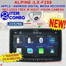 "ALPINE iLX-F259 HALO9 9"" SINGLE DIN TOUCHSCREEN APPLE CARPLAY ANDROID CAR STEREO"