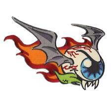 Flying Eyeball Weird Bat Monster Patch Embroidered Iron Jacket Applique Retro