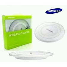 SAMSUNG QI WIRELESS CHARGER CHARGING PAD PLATE WHITE S6 S7 EDGE NOTE 5, 7