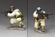 KING AND COUNTRY WW2 GERMAN Kneeling Aiming MP40 BBG079 BBG79