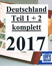 SAFE DUAL BUND 2017 TEIL 1+2 KOMPLETT NACHTRAG DEUTSCHLAND PORTOFREI !