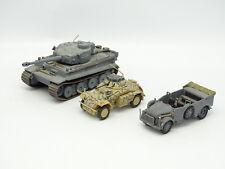 Altaya Militaire Army 1/72 - Lot de 1 SDKFZ + Steyr + 1 Tank