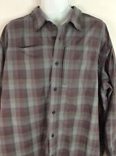 New listing Gander Mountain Shirt Outdoor Long Sleeve Fishing Check Vented Mens 2Xl