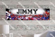 Personalized/Customized Montreal Canadiens Name Poster Wall Decoration Banner