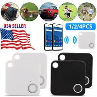 4X Smart Bluetooth Wireless Anti Lost Tracker Alarm Key Child Finder GPS Locator