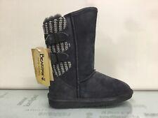 Bearpaw Womens Boshie Charcoal Fashion Boots Size 5