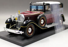 1/18 Mercedes Benz Dealer Model MB 770K The Emperor of Japan Red Black