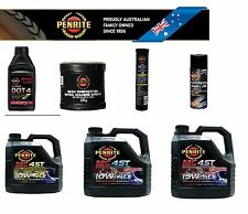 PENRITE 10W/40 Premium Full Synthetic MOTORCYCLE Engine Oil WET CLUTCH 4 litre
