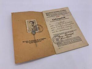 Original World War Two German H. Jugend. Durchsleben Buch