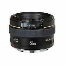 Canon Objetivos con F/1,4 50mm Distancia Focal para Cámaras