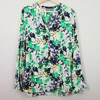 [ SUSSAN ] Womens Floral Print Blouse Top | Size AU 14 or US 10