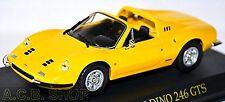 Ferrari Dino 246 GTS 1972-74 gelb yellow 1:43