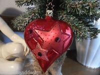 "SCHOEN German Inge Glas 4/"" Chocolate Angel Glass Christmas Ornament Handmade"