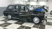 AUSTIN LONDON LTI TAXI FX4 BLACK CAB WELLY 1/24 SCALE CAR DIECAST MODEL