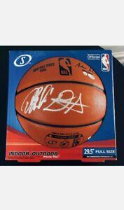Devin Booker & Deandre Ayton Signed Basketball Phoenix Suns Auto STEINER COA