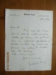 1923 MARIE LOHR ACTRESS  ACTOR AUTOGRAPHED LETTER SIGNED THE THEATRE