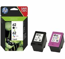 HP 62 Genuine Envy 5540 e-All In One Black & Colour Ink Cartridges