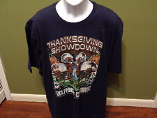 NFL Dallas Cowboys MIAMI DOLPHINS THANKSGIVING SHOWDOWN  2011 T SHIRT ADULT 3XL