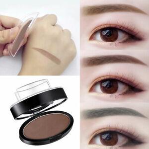 Eyebrow Stamp Natural Powder Shadow Waterproof Long-Lasting Brow Dye Makeup UK
