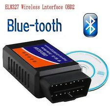 1 Pcs ELM 327 Bluetooth OBD2 ODBII Diagnostique DIAG Scan Torque Android Cadeau