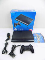 Boxed Ps3 Playstation 3 Super Slim Console CECH-4002C 500 Gb + Controller