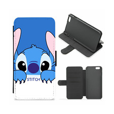 Lilo and Stitch Disney Kawaii Cute Wallet Slot Phone Case (iPhone, Samsung 10)