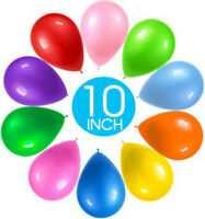 "10"" INCH LATEX PLAIN BALLOONS 25/50/100/200 PACK HIGH QUALITY AND PARTY BALLONS"