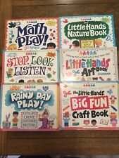 The Little Hands Craft Books, A. Williamson, 6 Books, Ages 2-6