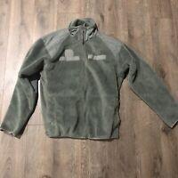 US Military Gen 3 ECWCS Lvl 2 Midweight Grid Fleece Drawers Underwear Brown VGC