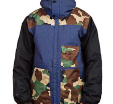 686 Revert Snowboard Jacket (L) Indigo Twill Denim