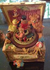 Spiel Uhr Schatz Truhe over the Rainbow Nostalgie Geschenk vintage Dekoration
