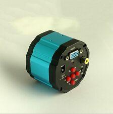 2.0MP Microscope C-mount Camera VGA AV TV Video Output to check Circuit board