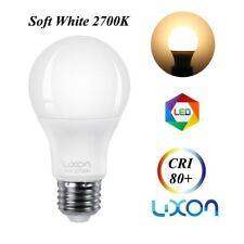 70 Watt Equivalent Led Edison light bulb 7W A60 A19 120V 2700k Warm White 6 Pack