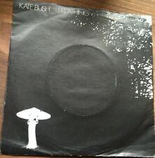 """Kate Bush, Breathing 7"""" vinyl in picture sleeve, 1980"""