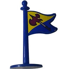 Crossbows and Catapults 1983 Lakeside Barbarian Flag-blue w. Viking-pike sticker