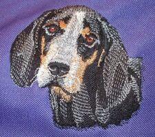 Embroidered Fleece Jacket - Bluetick Coonhound I1171 Sizes S - Xxl