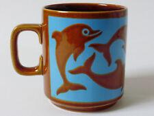More details for vintage hornsea pottery mug dolphins john clappison 1975 excellent