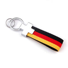 GERMANY Flag Keychain Keyring Key Chain Ring Fob for German Car Motorcycle Keys